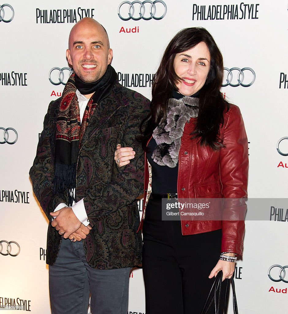 President & CEO of Cashman & Associates, Nicole Cashman (R) and husband Nigel Richards attend the Philadelphia Style Magazine Holiday Issue Release Party at Trust on December 19, 2013 in Philadelphia, Pennsylvania.