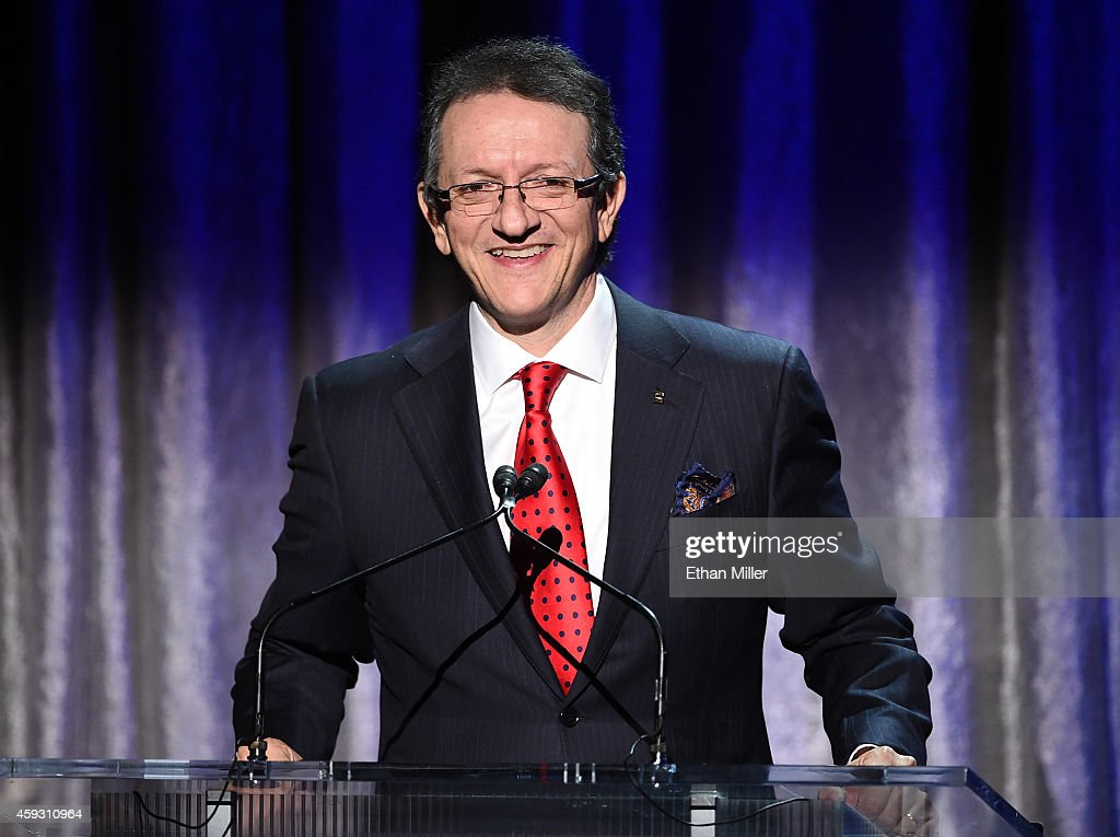 President & CEO of the Latin Academy of Recording Arts & Sciences Gabriel Abaroa attends the 15th annual Latin GRAMMY Awards premiere ceremony at the Hollywood Theatre at the MGM Grand Hotel/Casino on November 20, 2014 in Las Vegas, Nevada.
