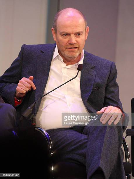 President CEO of The New York Times Company Mark Thompson speaks onstage at the CEO Connectors Presented by ATT AdWorks panel during Advertising Week...
