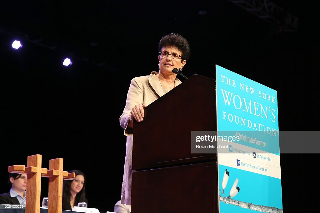 President & CEO of The New York Women's Foundation Ana L. Oliveira speaks on stage during The New York Women's Foundation's 2016 celebration womens breakfast on May 5, 2016 in New York City.