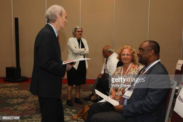 President CEO TB Alliance Dr Mel Spigelman and guests attend the TB Alliance Stakeholders Association Annual Meeting at the Union World Conference on...