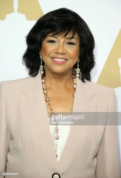President Cheryl Boone Isaacs arrives at the 89th Annual Academy Awards Nominee Luncheon at The Beverly Hilton Hotel on February 6 2017 in Beverly...