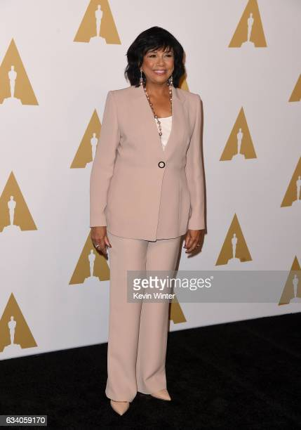 President Cheryl Boone Isaacs attends the 89th Annual Academy Awards Nominee Luncheon at The Beverly Hilton Hotel on February 6 2017 in Beverly Hills...