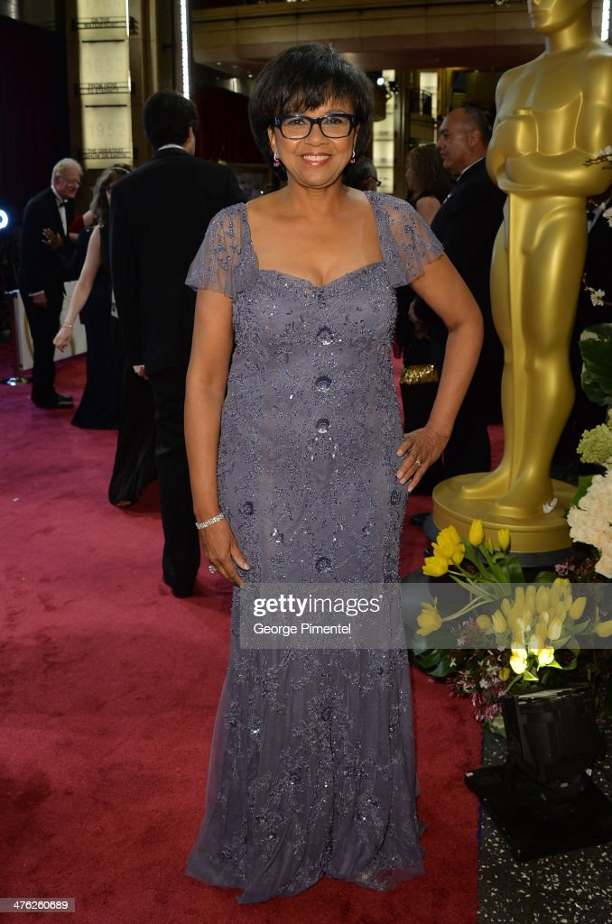 President <a gi-track='captionPersonalityLinkClicked' href=/galleries/search?phrase=Cheryl+Boone+Isaacs&family=editorial&specificpeople=725500 ng-click='$event.stopPropagation()'>Cheryl Boone Isaacs</a> attends the Oscars held at Hollywood & Highland Center on March 2, 2014 in Hollywood, California.