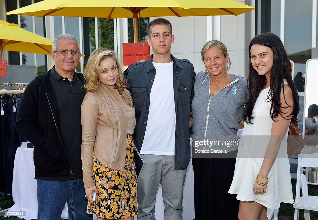 President & COO of Universal Studios Ron Meyer, Carson Meyer, Eli Meyer, Kelly Meyer and Jade Iovine attend the 1st Annual Children Mending Hearts Style Sunday on June 9, 2013 in Beverly Hills, California.