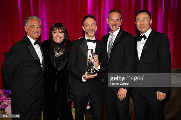 BMI President Del Bryant BMI Vice President Film/TV Relations Doreen RingerRoss Richard Kirk Award recipient Mychael Danna BMI CEO Michael O'Neill...