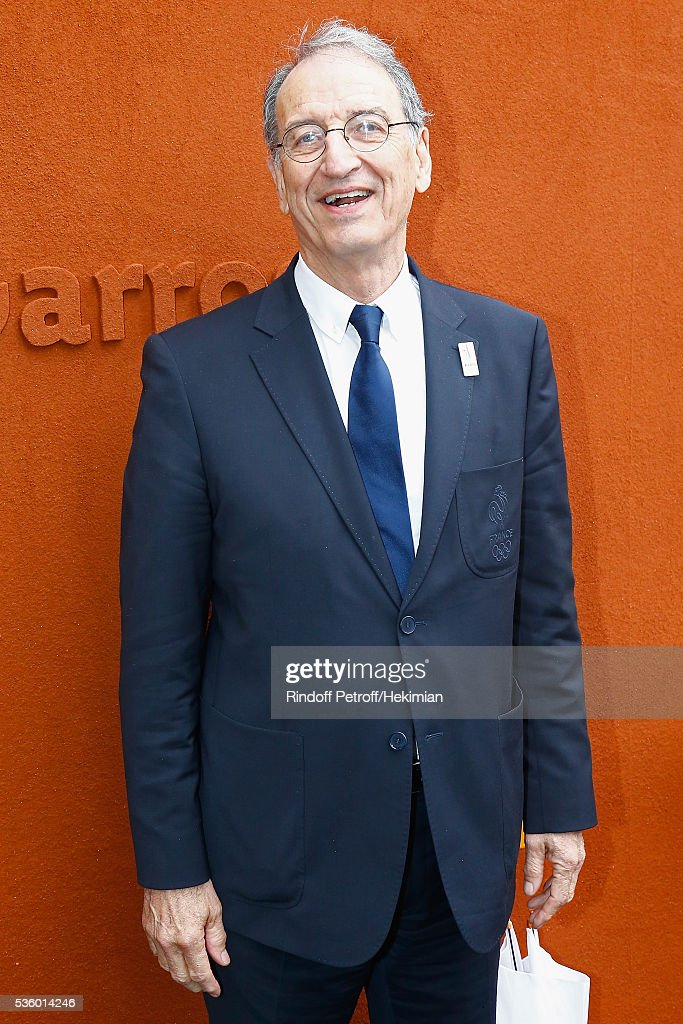 President Denis Masseglia attends day ten of the French Open 2016 at Roland Garros on May 31, 2016 in Paris, France.