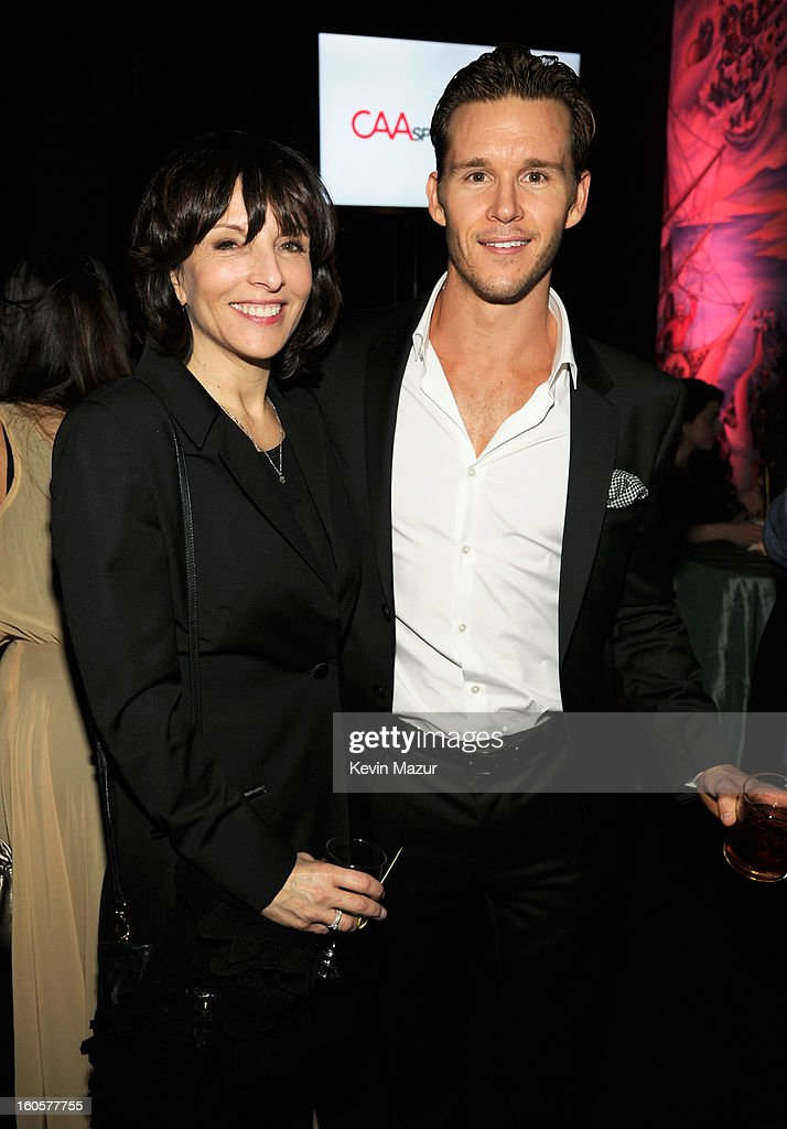 President Dick Clark Productions Orly Adelson and actor <a gi-track='captionPersonalityLinkClicked' href=/galleries/search?phrase=Ryan+Kwanten&family=editorial&specificpeople=2963828 ng-click='$event.stopPropagation()'>Ryan Kwanten</a> attend CAA Sports Super Bowl Party presented By LG at Contemporary Arts Center on February 2, 2013 in New Orleans, Louisiana.