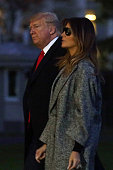DC: President Donald Trump Returns To White House From New York Trip