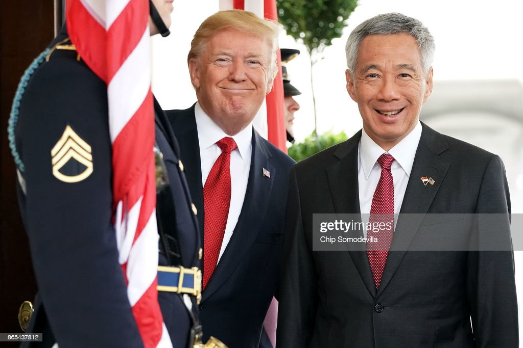 Singapore Prime Minister Visits White House