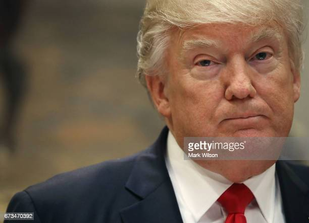 S President Donald Trump speaks before signing the Education Federalism Executive Order that will pull the federal government out of K12 education in...