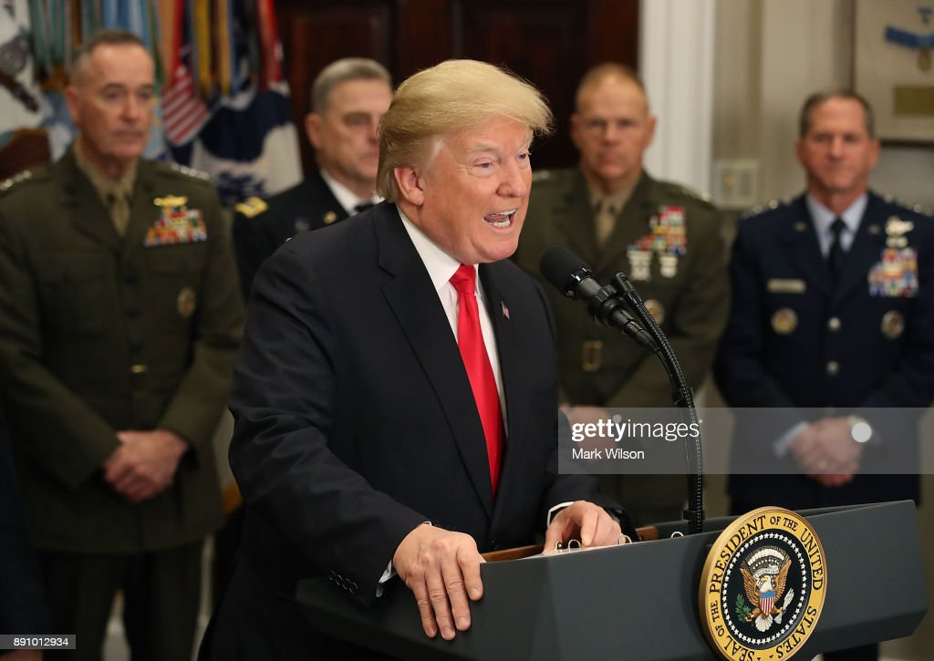 President Trump Signs National Defense Authorization Act For 2018