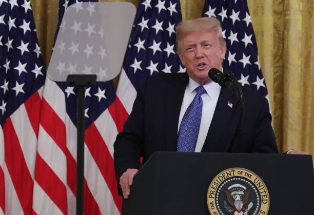 DC: President Trump Discusses Operation Legend  To Battle Crime In U.S. Cities