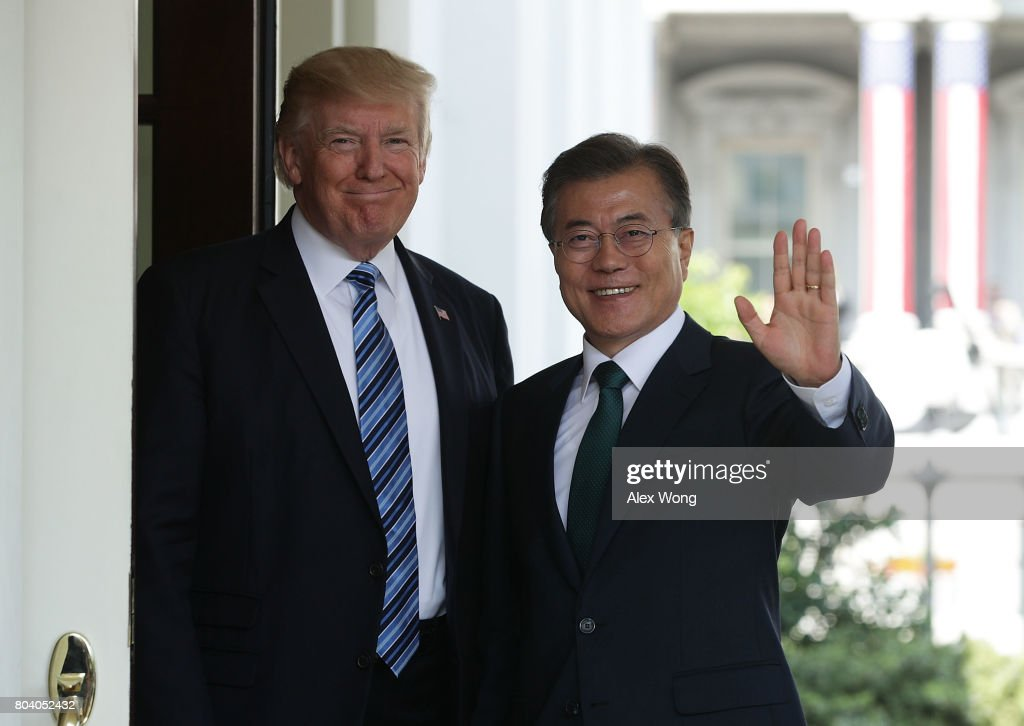President Trump Hosts President Moon Of South Korea At The White House