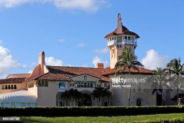 President Donald Trump's combined income reported from his MaraLago Club in Palm Beach Fla above and his golf clubs in Jupiter West Palm Beach and...