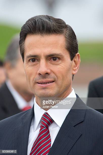 President Enrique Pena Nieto on a visit to Kronberg Castle and the M/S Maritime Museum of Denmark during the State visit of the President of The...