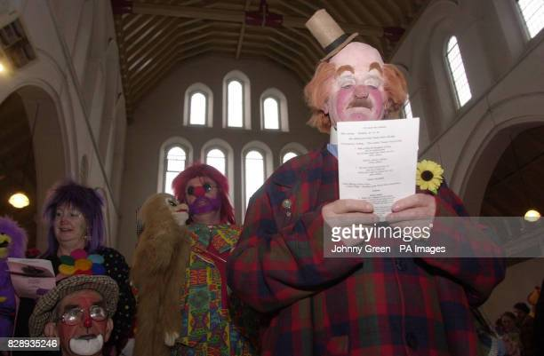 President for the World Clown Association Vercoe from Southport and Clowns from across the United Kingdom form part of the congregation for the 58th...