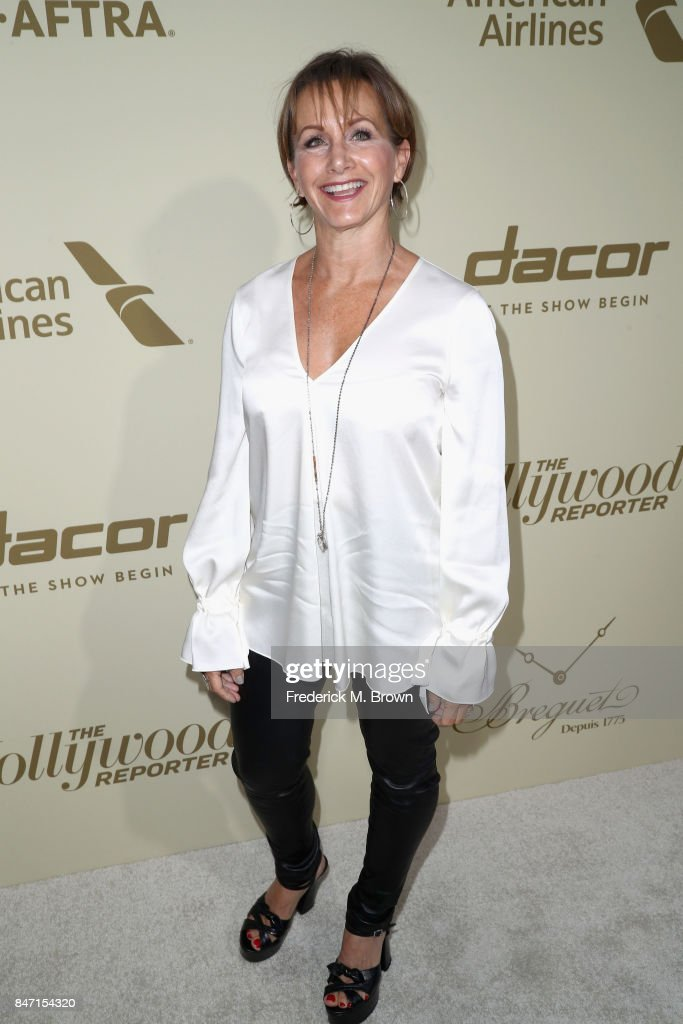 President Gabrielle Carteris attends The Hollywood Reporter and SAG-AFTRA Inaugural Emmy Nominees Night presented by American Airlines, Breguet, and Dacor at the Waldorf Astoria Beverly Hills on September 14, 2017 in Beverly Hills, California.