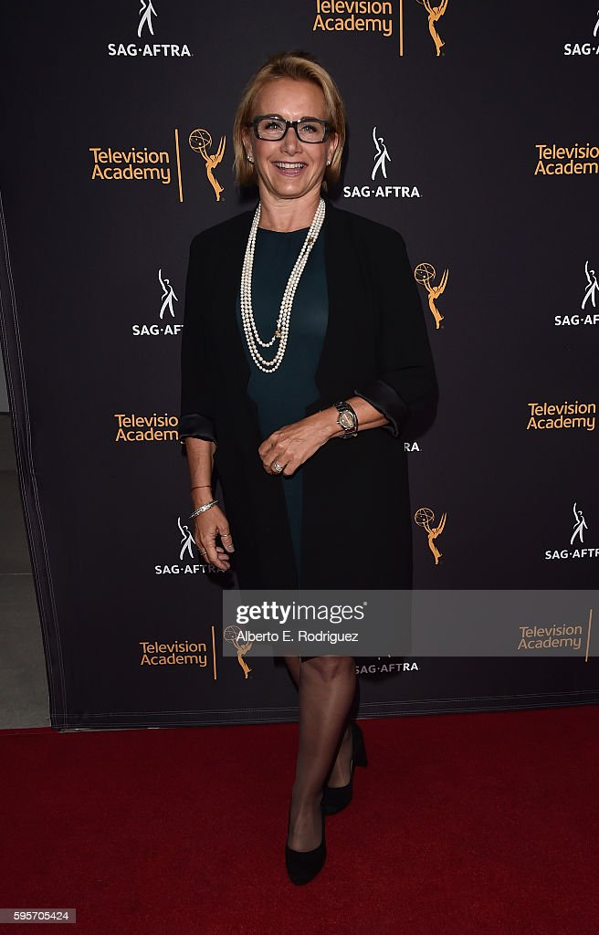 President Gabrielle Carteris attends the Television Academy And SAG-AFTRA's 4th Annual Dynamic and Diverse Celebration at The Saban Media Center on August 25, 2016 in North Hollywood, California.