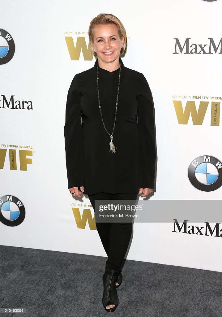 President Gabrielle Carteris attends Women In Film 2016 Crystal + Lucy Awards Presented by Max Mara and BMW at The Beverly Hilton on June 15, 2016 in Beverly Hills, California.