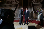 President George W Bush meets Vietnam's Prime Minister Nguyen Tan Dung at the Government Office in Hanoi Bush is attending the AsiaPacific Economic...