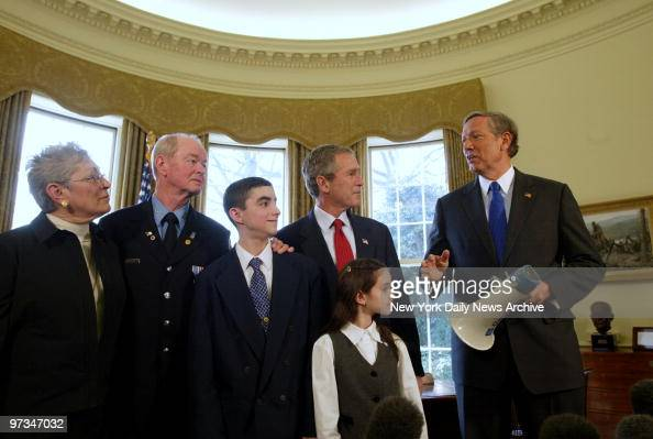President George W Bush Received The Bullhorn That He Used Pictures