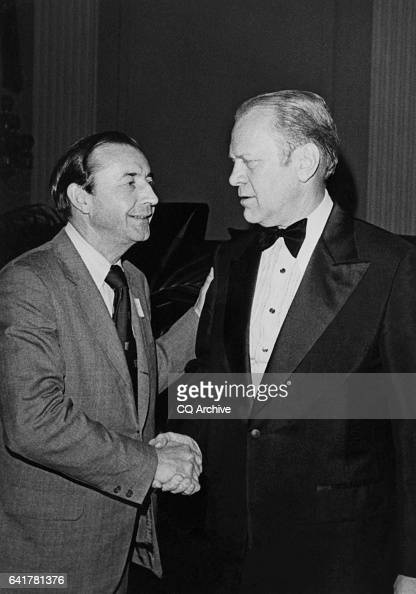 Gerald Ford Greeting His Party Member Pictures Getty Images