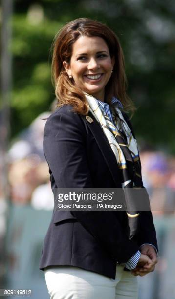 FEI President HRH Princess Haya during day five of the Badminton Horse Trials in Badminton Gloucestershire