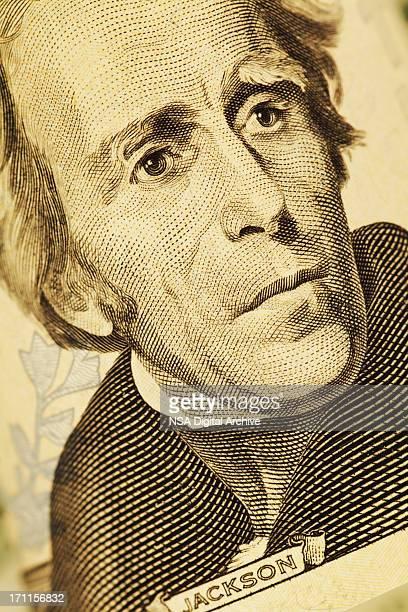 President Jackson on US $20 Bill