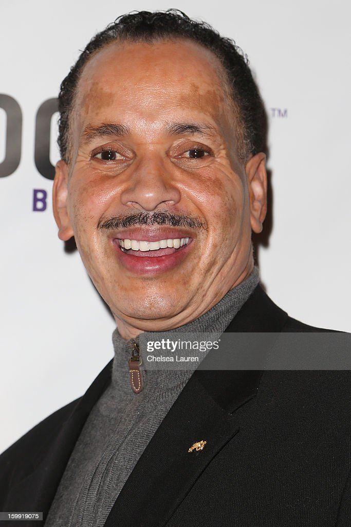 President Jarvee Hutcherson arrives at 'Rupaul's Drag Race' season 5 premiere party at The Abbey on January 22, 2013 in West Hollywood, California.