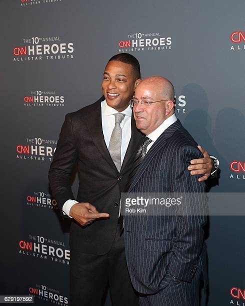 President Jeff Zucker and Don Lemon attend the 10th Anniversary CNN Heroes at American Museum of Natural History on December 11 2016 in New York City