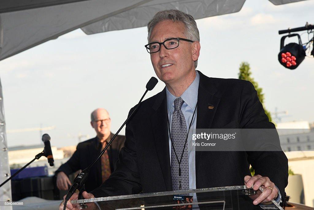 President Joe Lamond speaks during the NAMM TurnAround Arts Artist Reception at Nelson Mullins on May 24, 2016 in Washington DC.