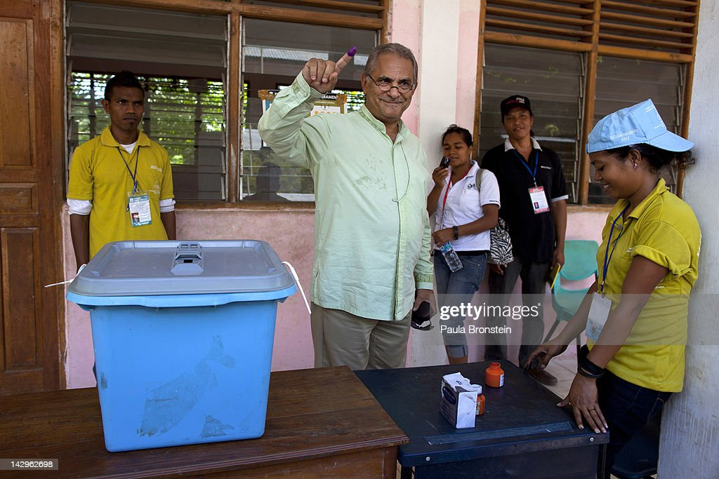Second Round Of Presidential Elections Held In East Timor