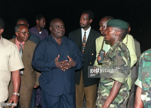 President Laurent Desire Kabila (3rd L) Pictures | Getty ...