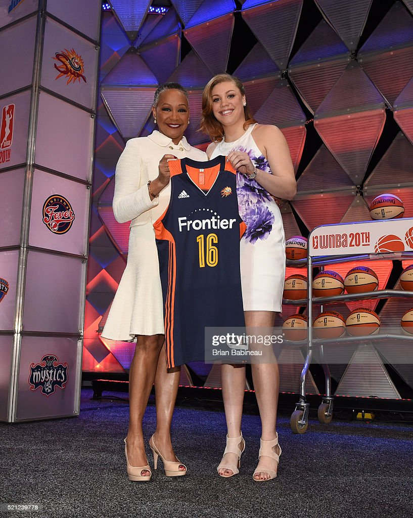 2016 WNBA Draft and Portraits