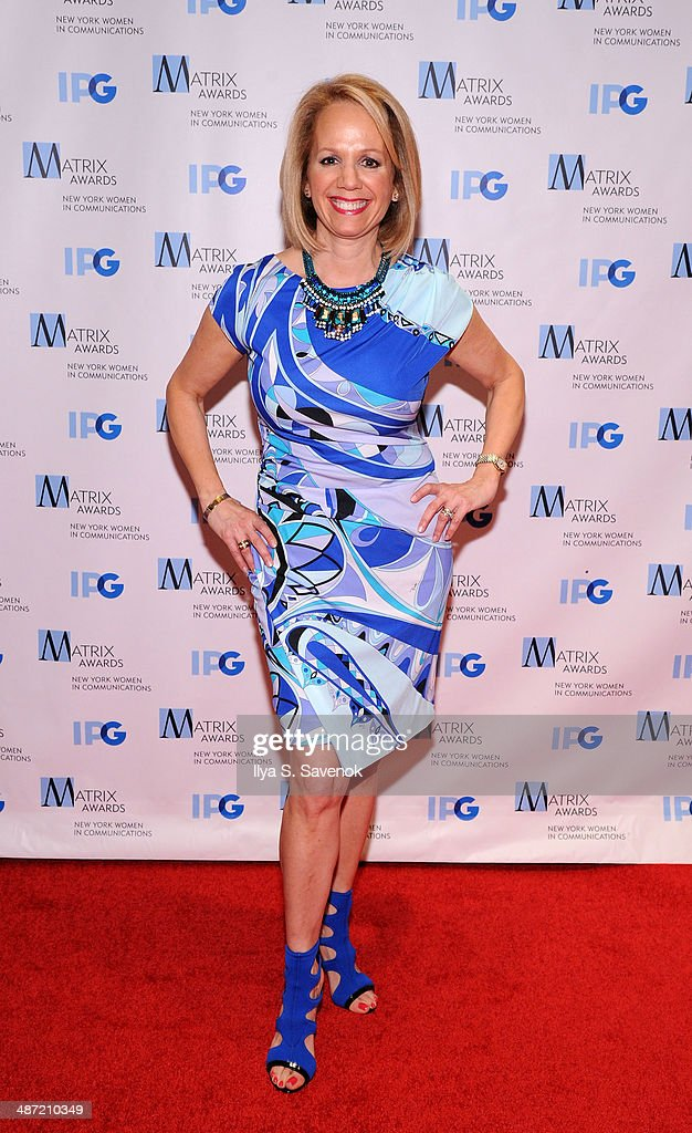 President, Liz Kaplow attends the 2014 Matrix Awards at The Waldorf=Astoria on April 28, 2014 in New York City.
