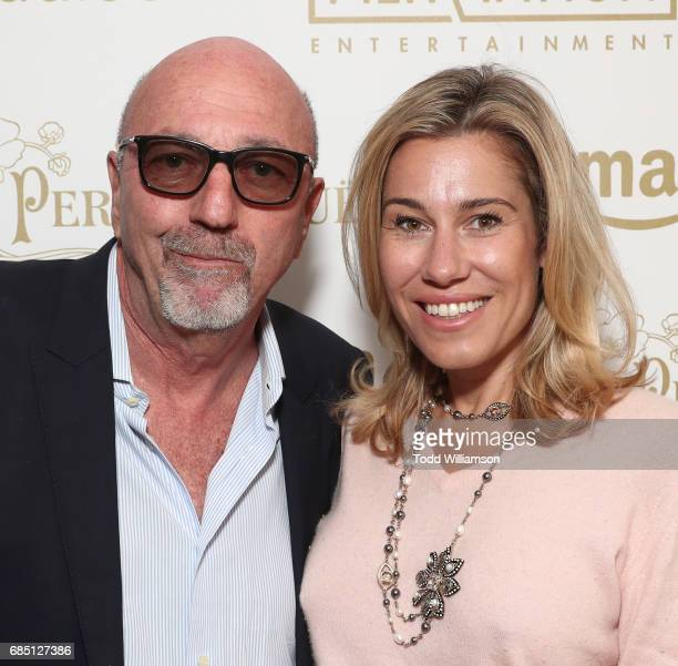 President Lorenzo Soria and Lilla Soria attend the 'Wonderstruck' Cannes After Party on May 18 2017 in Cannes