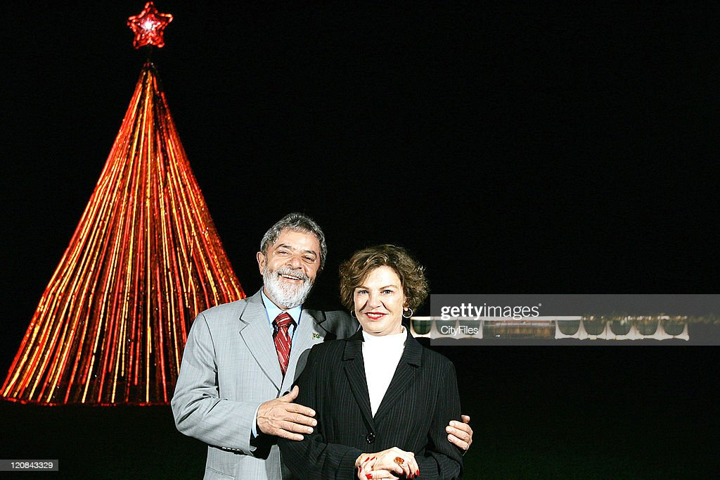 Christmas Party with President Lula of Brazil