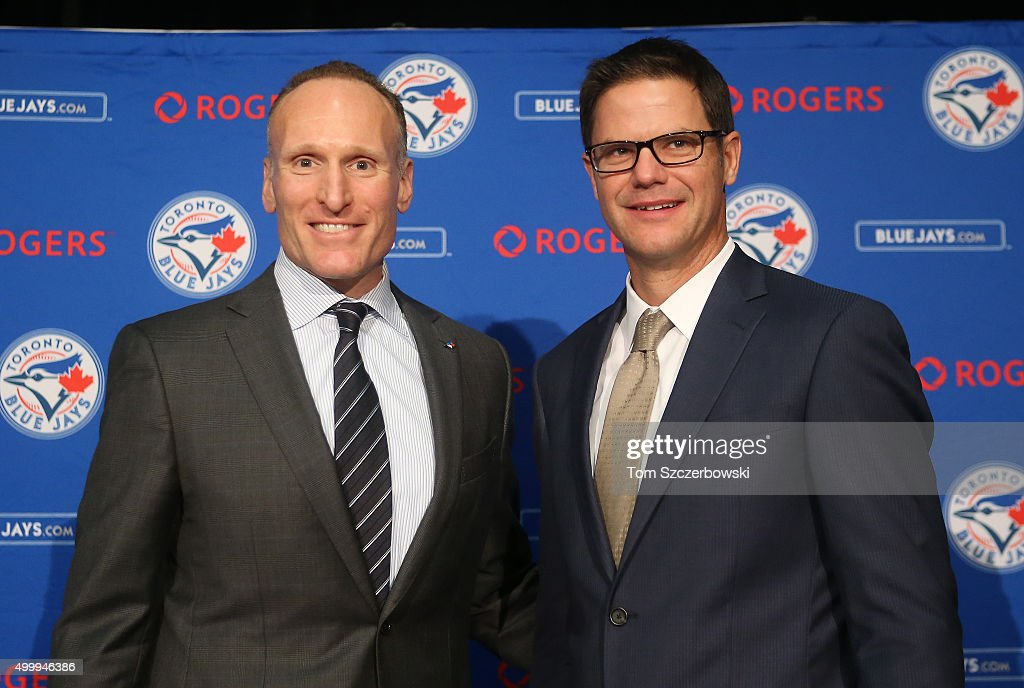 Toronto Blue Jays Introduce Ross Atkins