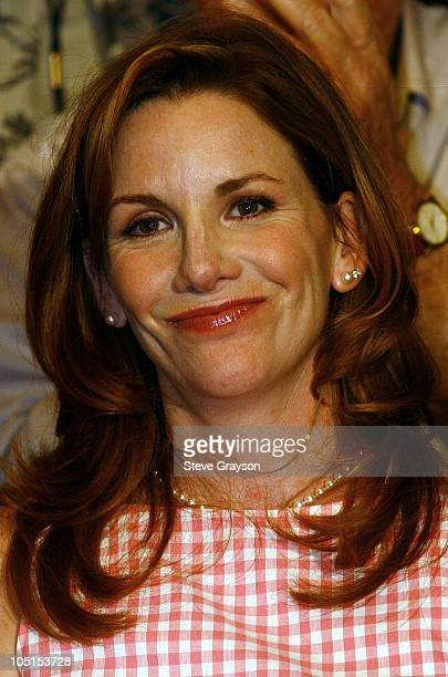 SAG President Melissa Gilbert during The SAG/AFTRA Consolidation Vote at Radisson Wilshire Plaza Hotel in Los Angeles California United States