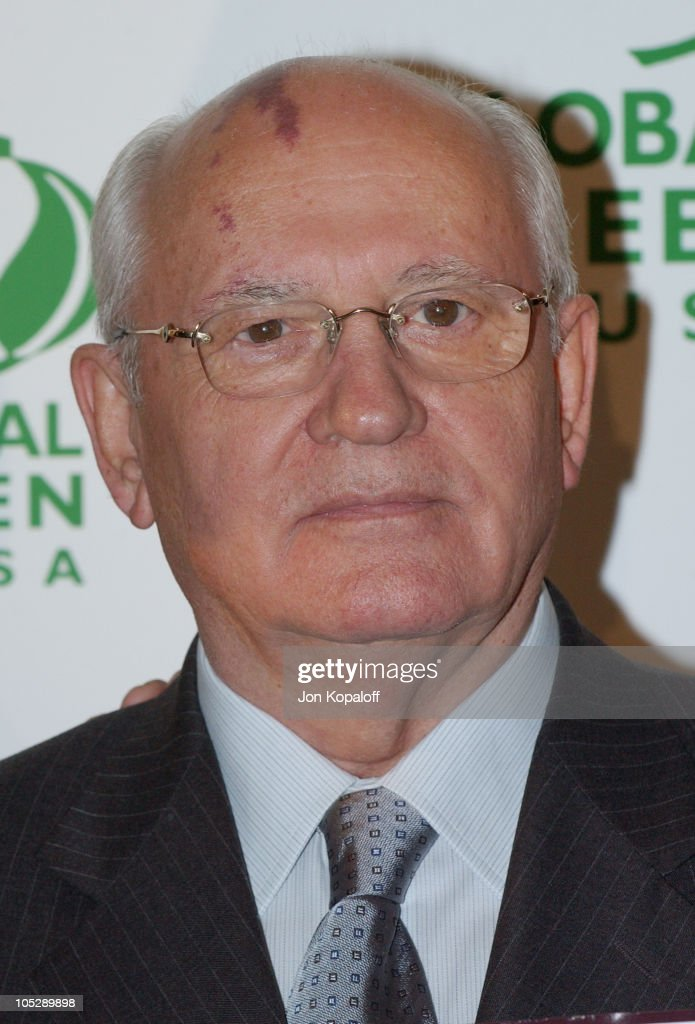 President Mikhail S. Gorbachev during 8th Annual Green Cross Millennium Awards at St. Regis Hotel in Century City, CA, United States.
