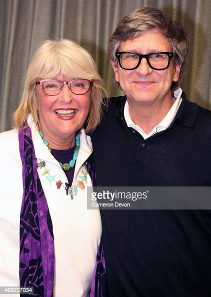 President Mimi Gramatky and art director Rick Carter attend Art Directors Guild Presents A Conversation With Star Wars VII Production Designer Rick...