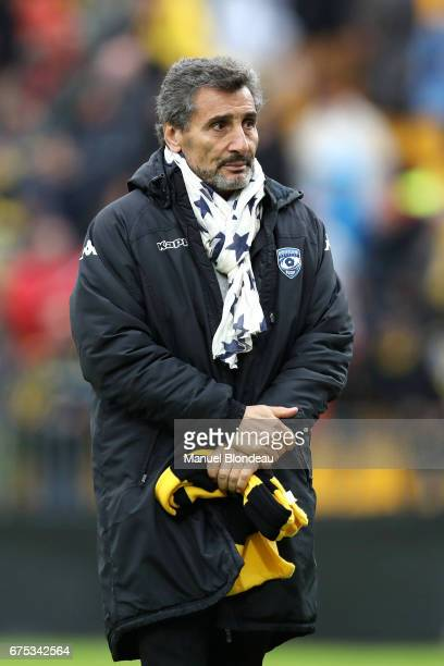 President Mohed Altrad of Montpellier during the French Top 14 match between La Rochelle and Montpellier on April 30 2017 in La Rochelle France