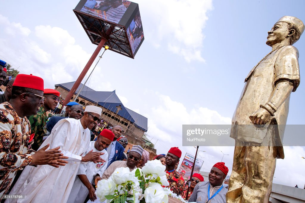 President Muhammad Buhari visits Ebonyi State to commission projects