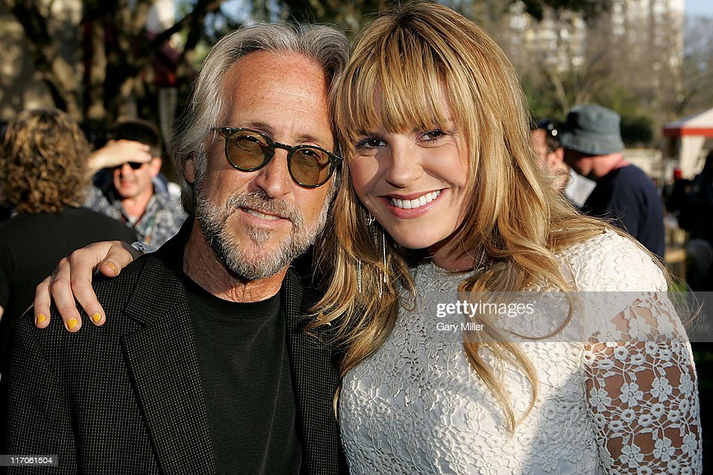 President Neil Portnow (L) and musician Grace Potter attend the Recording Academy's Texas Chapter membership drive on the south lawn of the Four Seasons during the South By Southwest Music Festival on March 18, 2010 in Austin, Texas.