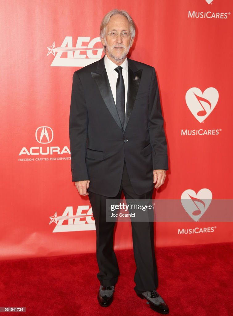 President Neil Portnow attends MusiCares Person of the Year honoring Tom Petty at the Los Angeles Convention Center on February 10, 2017 in Los Angeles, California.