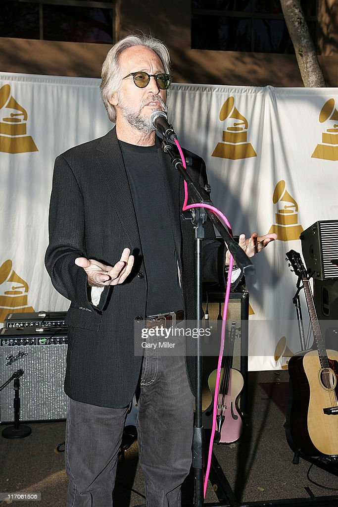 President Neil Portnow speaks to attendees at the Recording Academy's Texas Chapter membership drive on the south lawn of the Four Seasons during the South By Southwest Music Festival on March 18, 2010 in Austin, Texas.