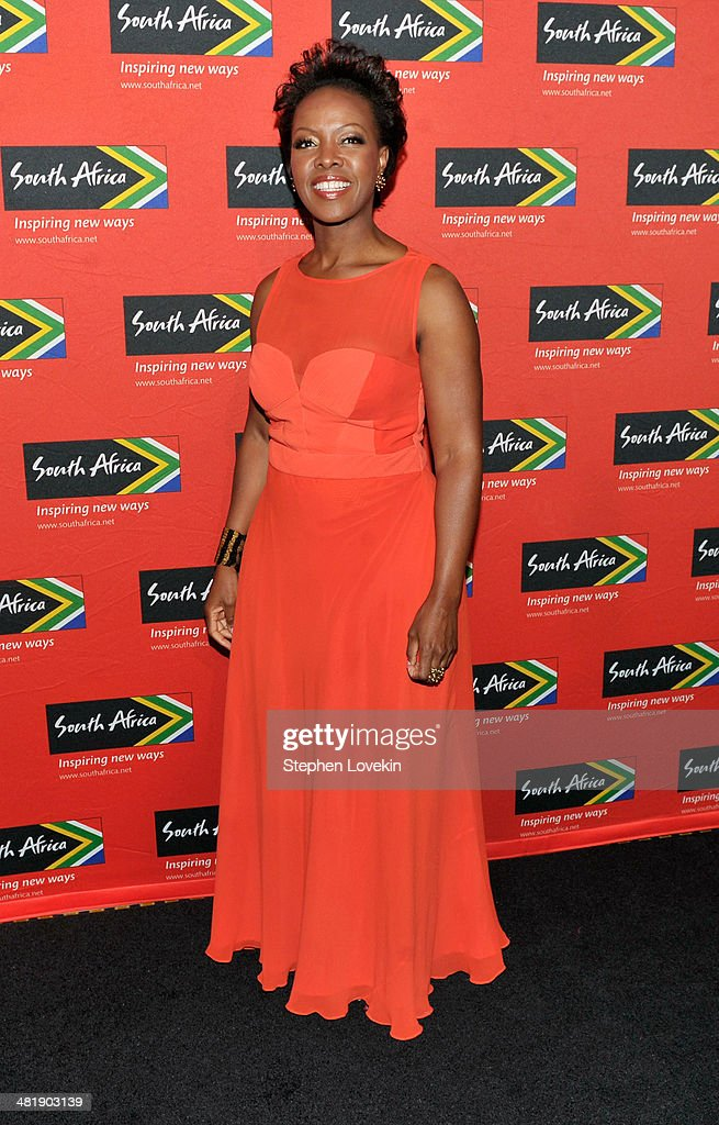President North America of South African Tourism Sthu Zungu attends the 2014 Ubuntu Awards at Gotham Hall on April 1, 2014 in New York City.