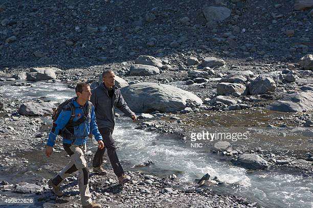GRYLLS 'President Obama' Episode 209 Pictured Bear Grylls President Barack Obama