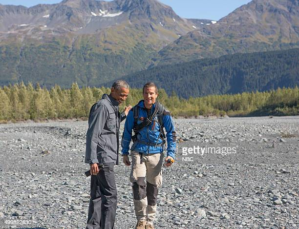 GRYLLS 'President Obama' Episode 209 Pictured President Barack Obama Bear Grylls